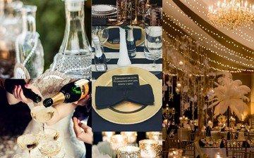 стиль, свадьба, праздничный стол