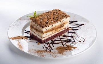 chocolate, sweet, cake, souffle, cream