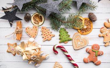 корица, человечки, елочки, звездочки, новогодние украшения, пряники, новогоднее печенье, имбирные пряники