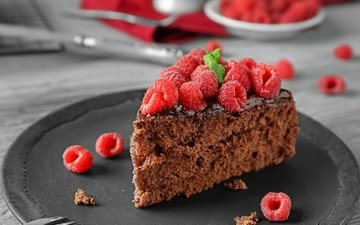 raspberry, cake