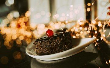 chocolate, sweet, 3, cake, cream
