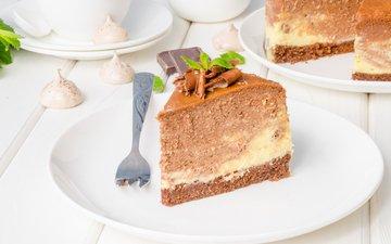 chocolate, cake, marshmallows, cheesecake, 8, meringue