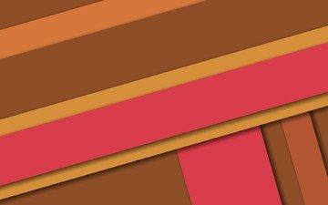 линии, материал, геометрия