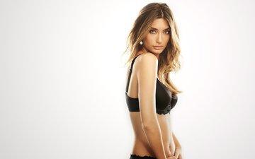 girl, look, model, face, bra