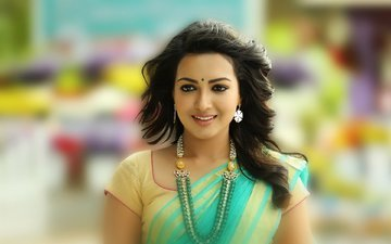 smile, model, lips, actress, celebrity, bollywood, indian, saree, catherine tresa