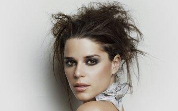 girl, look, hair, face, actress, makeup, neve campbell