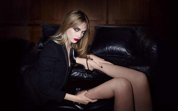 girl, blonde, look, the situation, model, legs, hair, face, actress, cara delevingne