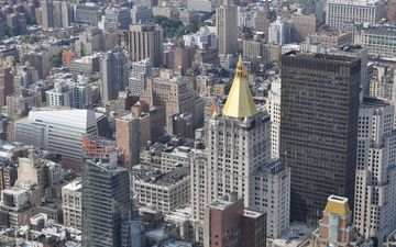 город, сша, нью-йорк, архитектура, здания, небоскрёб, манхэттен