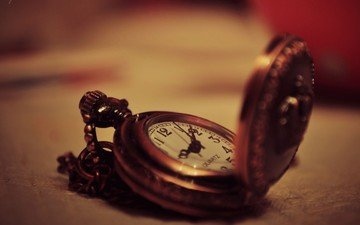 macro, background, watch, time, arrows, dial, pocket watch, old