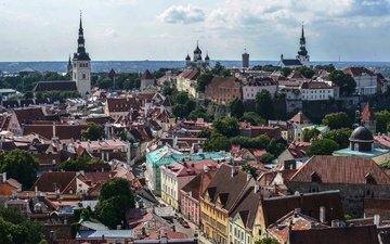 the city, estonia, tallinn