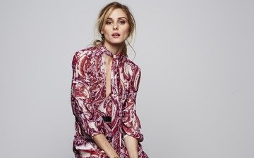 girl, dress, pose, look, model, face, actress, makeup, figure, olivia palermo