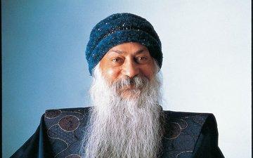 look, face, male, beard, gray, osho rajneesh, indian thinker, osho