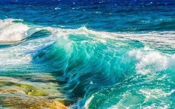 water, nature, wave, sea, the ocean