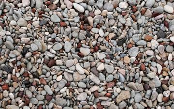 nature, stones, pebbles, sea