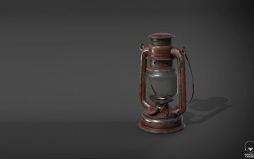 art, background, lamp, lantern, kerosene lamp
