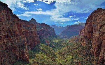 природа, пейзаж, скала, гора, каньон, камень, долина, плато, ландшафт, рельеф, овраг, национальный парк, дикая местность, формирование, геология