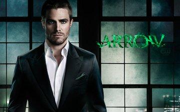 look, actor, arrow, face, tv series, stephen amell