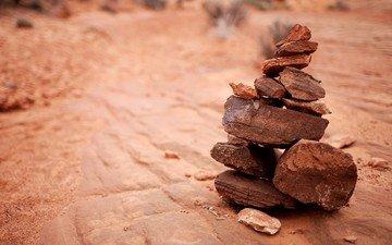 stones, tower, pyramid, balance