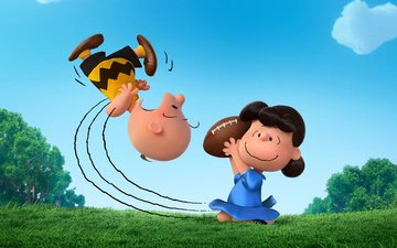 lucy, movies, animation, the peanuts, lucy charlie, the peanuts movie, charlie brown, peanuts