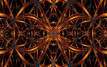 art, abstraction, pattern, color, form, fractal
