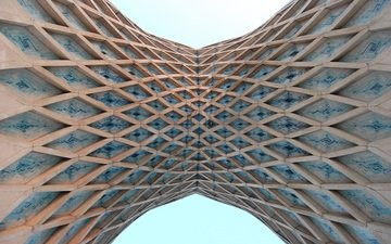 башня, архитектура, симметрия