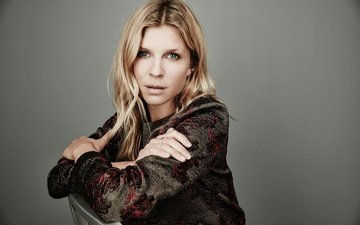 girl, blonde, portrait, look, hair, face, actress, clemence, poezi, clemence poesy