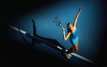 girl, sport, racket, match, sports wear, tennis player, daniela hantuchova