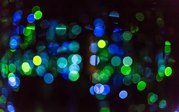 light, abstraction, background, color, glare, circles