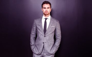 actor, costume, male, beard, theo james