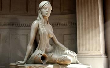 ядро, статуя, 3д