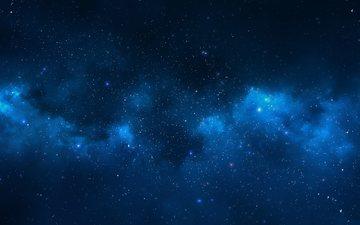ночь, неба