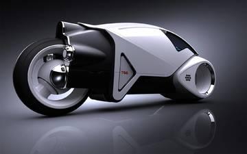 будущее, мотоцикл, прототип, концепция