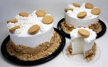 сладкое, печенье, десерт, пирожное, торты, крем, орео