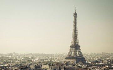 the city, paris, france, eiffel tower