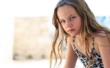 portrait, look, children, girl, hair, face, child, curls, robert lipic