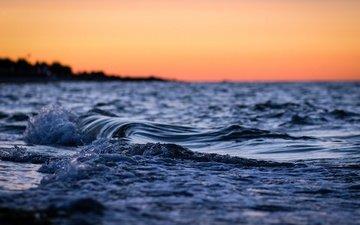 water, nature, wave, sea, horizon, the ocean