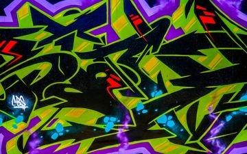 the inscription, color, wall, graffiti