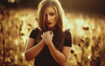 девушка, портрет, модель
