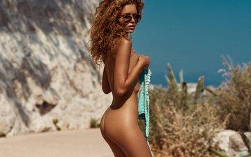 девушка, модель, позирует, julia yaroshenko