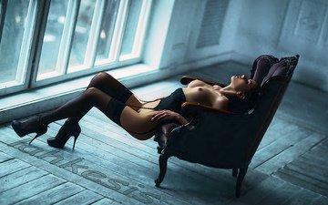 девушка, ножки, секси, тело, кружево, julia sariy
