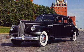 ссср, улица, авто, вс, автомобиль, лимузин, блака, r8, kremlin, видим, передний, ницца, зис, зис110, zis, zis110, 110, 6l, 140, horsepower, 1945