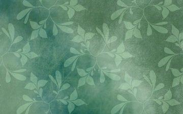 текстура, листья, фон, узор