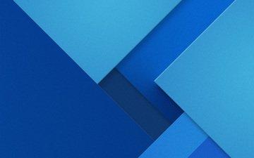текстура, фон, синий, цвет, голубой, треугольник, геометрия