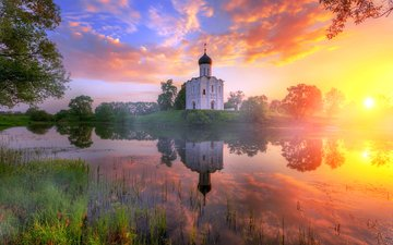 temple, sunset, beauty, tra-ta-ta