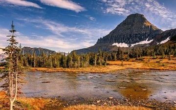 река, горы, природа, лес, озёра, реки