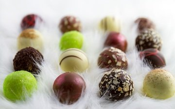 конфеты, шоколад, конфета, в шоколаде, шоколадные конфеты, пралине