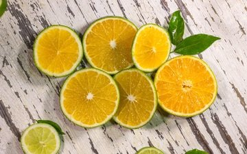 апельсин, лайм, цитрус, дерева