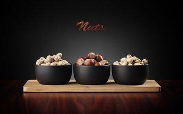 орехи, фундук, арахис, фисташки