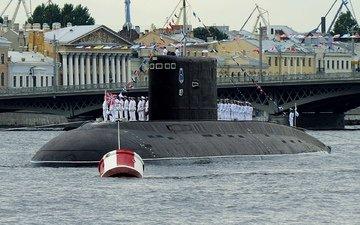 лодка, санкт-петербург, подводная, дизельная