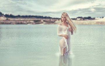озеро, девушка, блондинка, девушки, тело, мокрая, gевочка, фотосъемка, celina, celina berthelsen, tonny, jorgensen, nathan, berthelsen